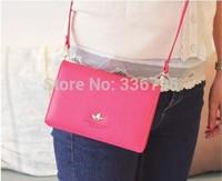 Free Shipping multifunctional wallet card holder mobile phone bag passport bag cross-body
