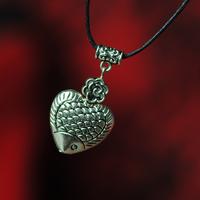 National accessories original design trend national silver necklace pendant female male 1002843