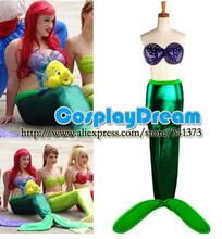 halloween mermaid costume promotion