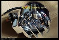 Chrome 6 spotlight spotlights auxiliary lamp off-road lights belt mesh car lamp