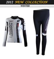 2014 BMC Team Thermal Fleece cycling Long Suit woman Cycling Clothing/Cycling Wear/ Cycling Jersey Silicon gel pad