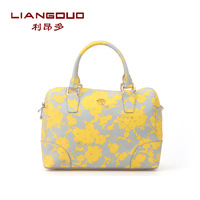 Leone spring and summer more than new arrival normic 2014 fashion petals pattern women's women's handbag cross-body handbag