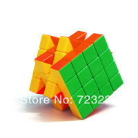 DianSheng Stickerless Speed Cube Twisty Magic Puzzle 4x4x4 4x4 6cm Educational Toys No Stickers Free Shipping