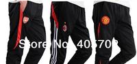 12pcs/lot Football pants soccer training pants leg pants  legs track pants breathable sports trousers Free Shipping!