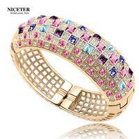 Austria crystal bracelet vintage fashion female accessories the bride bracelet