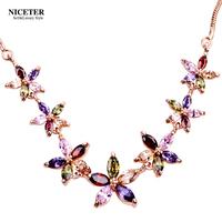 Niceter accessories pendant aaa zircon necklace female accessories jewelry