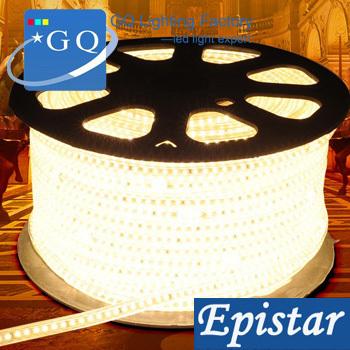 10m/lot 3014 LED strip light 60leds white/warm LED string Waterproof 100v110v120vInstead of 5050 led strip 5630 led strip(China (Mainland))