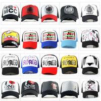 New Men women Baseball sports flat Caps Supreme ADJUSTABLE summer snapcap snapback sun cap Mans hip-hop sport outdoor hats hot!!