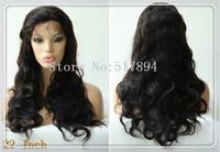 "120% Density!UPS Free! Brazilian Human Hair Glueless Full Lace Wigs 2# Darkest Brown 10""12""14""16""18""20""Body Wave Brown Lace A15"