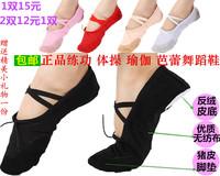 Child dance shoes female child adult soft outsole dance shoes