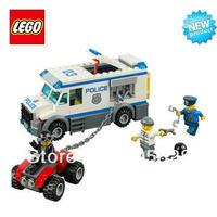 Free Shipping NEW Original educational brand lego Blocks toys 60043  city series  Prisoner Transporter 196PCS for Gift