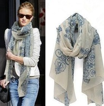floral shawl promotion