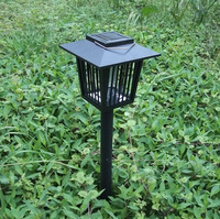 Outdoor solar mosquito killer 2led outdoor decoration solar lawn lamps Free shipping