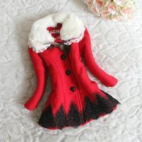 2013 Winter explosion models Korean girls thick woolen coat jacket girls free shipping