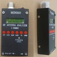 2014 Brand New 1Pcs Mini HF ANT SWR Antenna Analyzer SARK100 For Ham Radio Hobbists 1 - 60 Mhz Free Shipping