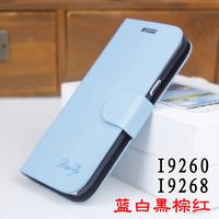 For samsung   i9260 i9268 phone case mobile phone case  for SAMSUNG   i9260 protective case original flip protective case