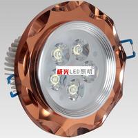 Led5w7w12w ceiling spotlights 7w crystal  led crystal lighting 1w3w5w7wled crystal spotlights