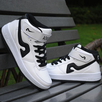Autumn and winter skateboarding shoes male casual shoes the trend of the elevator shoes men shoes