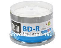 10 Pack 25GB BD-R 2-10X Speed High Grade Ritek/Arita Printable Bluray Blank Disc