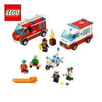 Free Shipping NEW Original educational brand lego Blocks toys 60023 city series City Starter-Set  272PCS for childrenGift