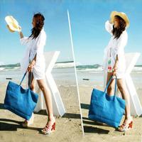 2014 New  beach bag fashion one shoulder woven  straw  rattan  waterproof multifunctional bag