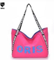 2014 women's handbag canvas brief bag canvas big bag