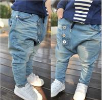 free shipping Hot sale New arriveBaby Kids Clothing Children's pants Boy's Harem Pants PP jeans child pants trousers