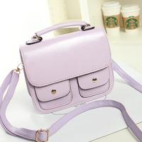 Bags 2014 female candy color fashion women's handbag cross-body shoulder bag the trend of female women messenger bags