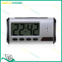 Alarm Clock Hidden Camera 640*480 Alarm Digital Camera Mini DVR Watch Mini DV DVR 20Pcs/Lot DHL Free Shipping