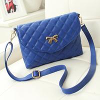 New arrival bags 2014 women's female fashion handbag plaid one shoulder cross-body women's small bag