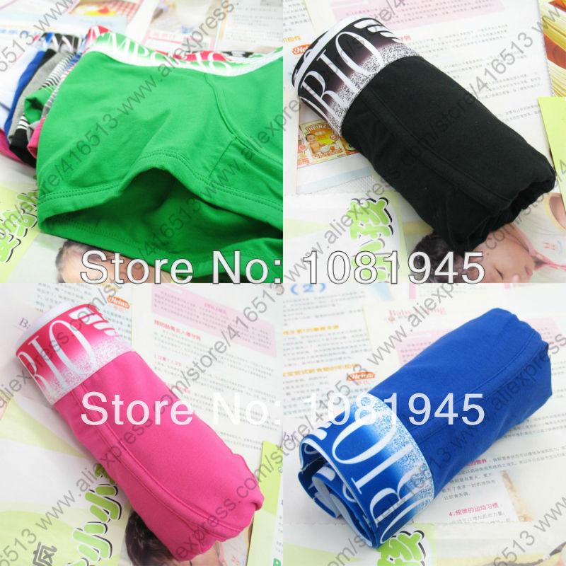 Good quality 3 pcs Men's Boxer Shorts Mens cotton boxers Mens brand underwear(China (Mainland))