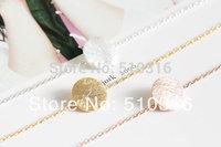 2015 New Circle Bracelet 18K Gold/Silver Ladies Round Hippie Charm Bracelets
