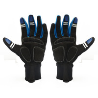 1 PCS New Fashion Cycling Bike Bicycle GEL Shockproof Sports Full Finger Gloves M-L