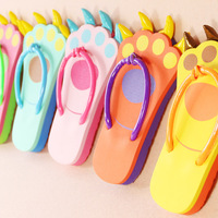 2014 claws beach flip flops cartoon flat slip-resistant light fashion slippers female home