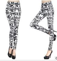 2014 High Quality Letter Print Leggings for Women New Spring Women's Leggings