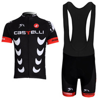 Castelli scorpion crescent sleeved jersey suit strap cycling clothes for male and female