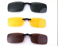 Lightweight sunglasses amphibious polarisers clip driver driving day and night fishing for men and women