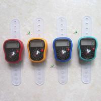 digital tally counter 50pcs/lot free shipping mini finger compass counter free shipping