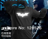 Batman Marvel t Shirts New 2014 Hero Emitting Luminous Avengers T-shirt Men's Sport Clothing Jersey Short Sleeve Shirt
