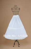 New 2 Hoops 1 Layers Ivory A-Line Wedding Gown Crinoline Petticoat PT-014
