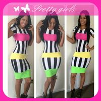 black white striped bodycon dress,plus size striped bodycon dress,striped bodycon dresses