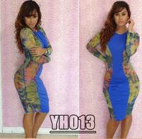 sexy bodycon dress clubwear american apparel bandage dress 2014 high street plus size women's clothing YH013