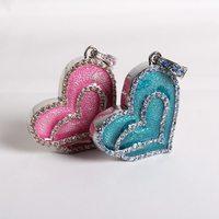 usb flash drive crystal heart necklace 8gb 16gb 32gb pen drives flash usb memory jewelry usb flash memory gift