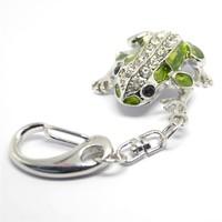 wholesale jewelry usb driver frog animal 1-32GB crystal usb flash drive usb gadgets usb flash memory disk s