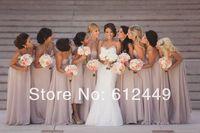 Fashion Hot Sale Chiffon  Sweetheart Elegant Floor Length Dress 2014 New Bridesmaid Dresses