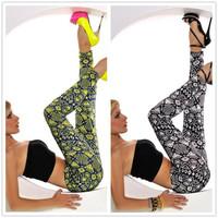 2014  New Spring Geometric Print Women's Sexy Leggings Fashion Fitness clothing for women