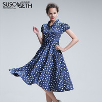 women's new 2014 ruffle elegant heart print slim fit fancy chiffon plus size xl xxl  women summer dress 2014 casual dress