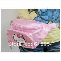 freeship promotion hellokitty cat Leisure wallet hello Kitty sport casual waist bag 7906