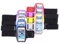 2015 Colorful Outdoor Sport Running Arm Band Gym Strap Holder Case Cover A for iPhone 5C 5G 5S
