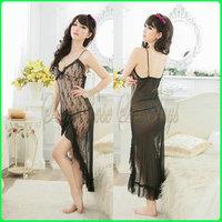 D0032 Hot Sale Black Gauze Paillette Bsic Slim Hip Sexy Dress Bodycon 2013 Mini clubwear Dress,Black transparent gauze